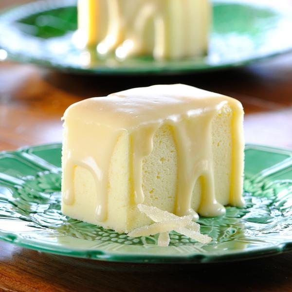 recette cheesecake japonais garniture crème au gingembre