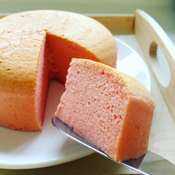 recette cheesecake japonais version keto à la fraise