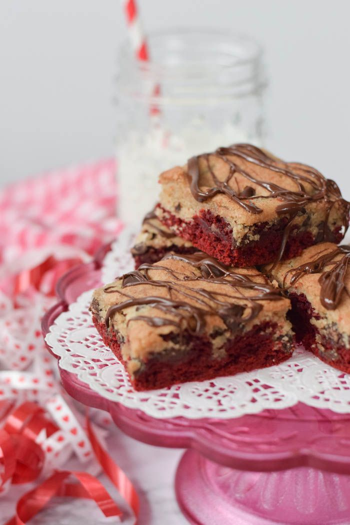red velvet recette brookies