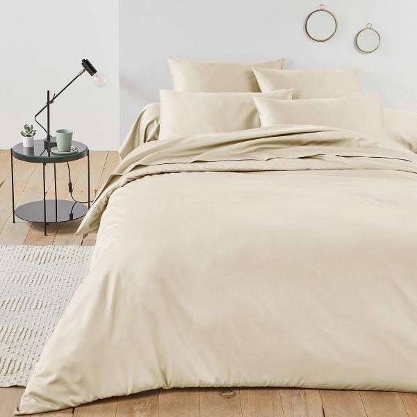 satin de coton matière de qualité linge de lit