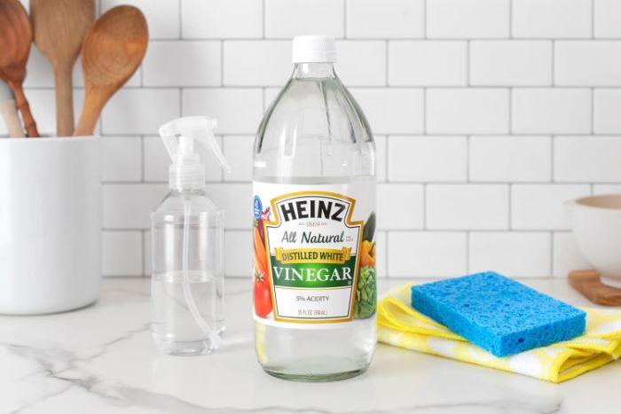 vinaigre blanc désinfectant ménage naturel