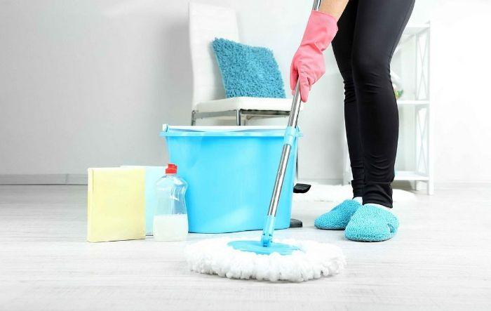 vinaigre blanc désinfectant produits naturels nettoyage sol