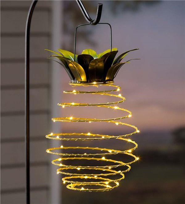 éclairage de jardin DIY en forme de spirale