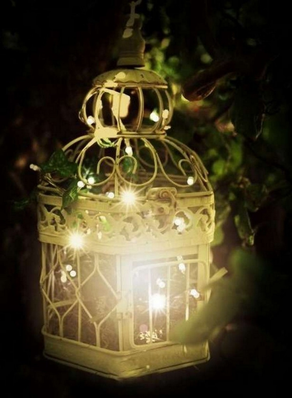 éclairage de jardin DIY jolie lanterne