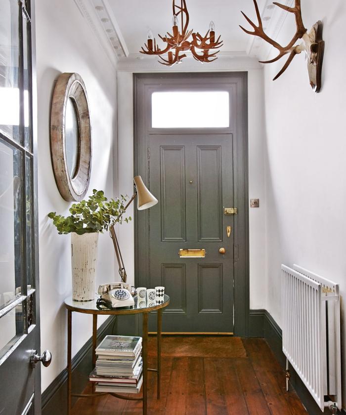 éclairage entrée et couloir petite entrée