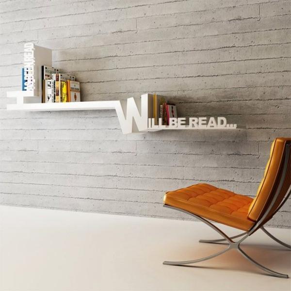 étagère murale décorative ameublement minimaliste