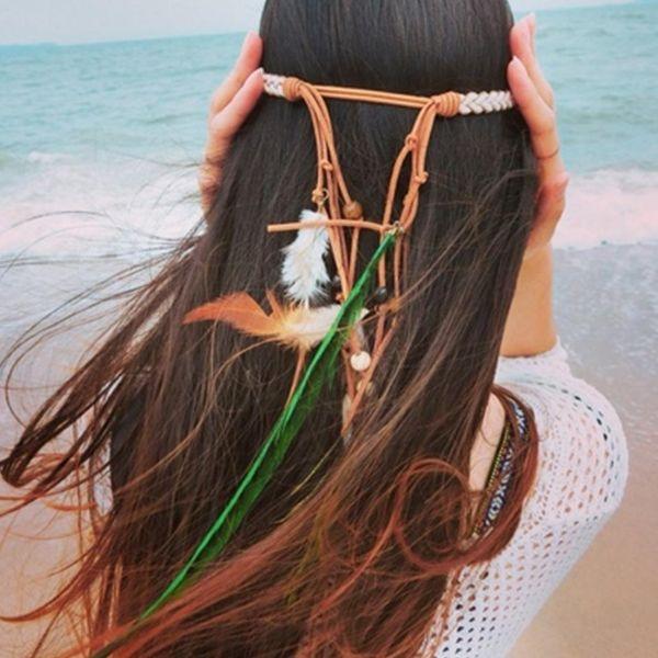 accessoire cheveux coiffure bohème