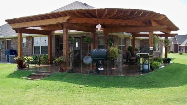aménager un coin barbecue autour de la maison