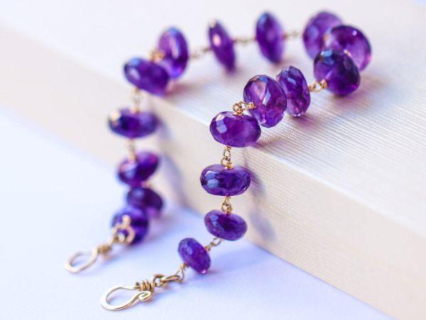 améthyste bracelet pierre anti-stress
