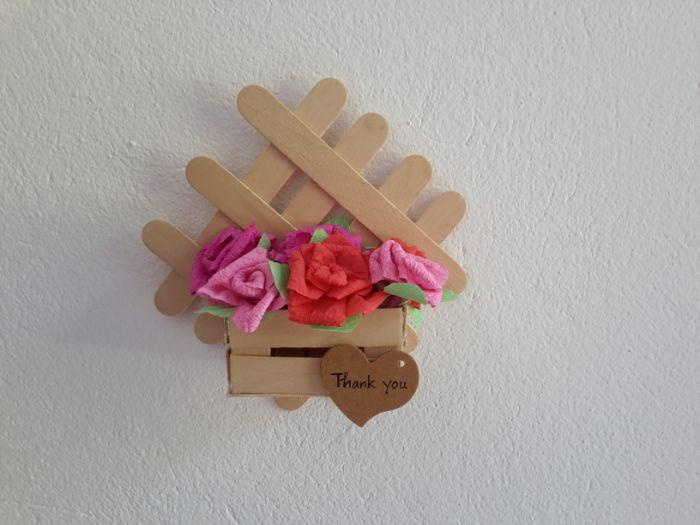 bâton de glace en bois idées diy objet déco très joli