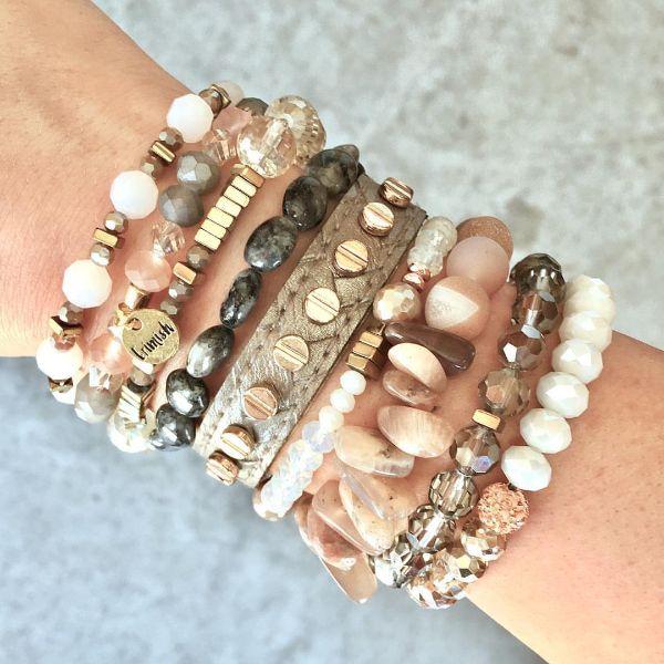 bracelet pierre anti-stress femme