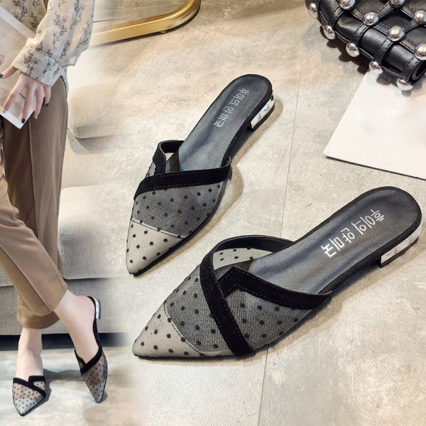 chaussures pointues femme bas et commodes