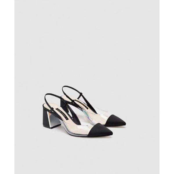 chaussures pointues femme des talons larges creux