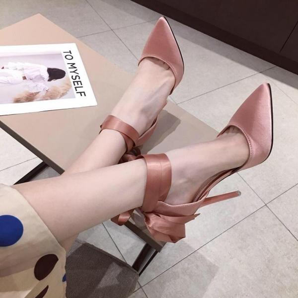 chaussures pointues femme printemps et été