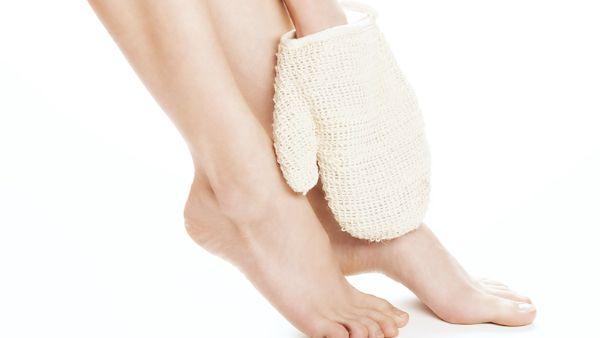circulation sanguine jambes lourdes gant de crin