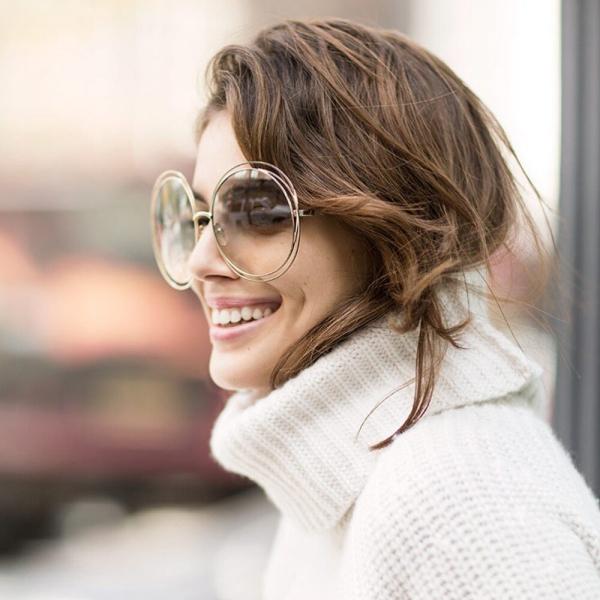 comment choisir ses lunettes de soleil grandes et rondes