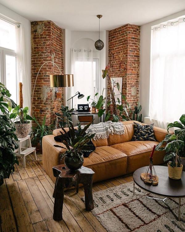 design d'intérieur ambiance biophilique