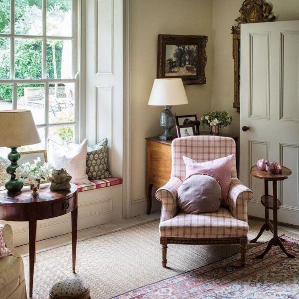design d'intérieur vieux classique
