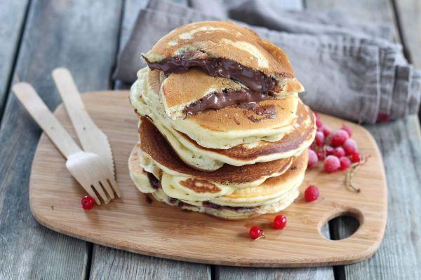 dessert unique pancake fourré
