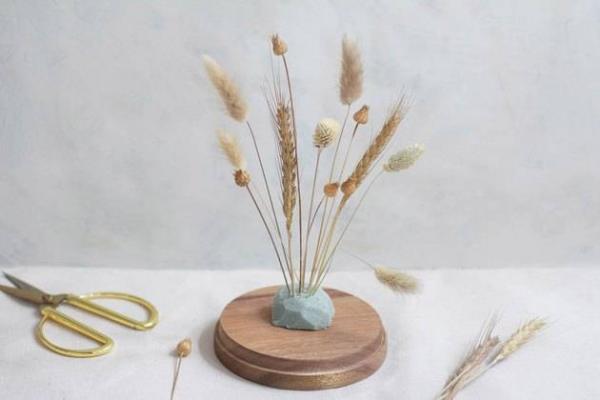 diy fleurs séchées sous cloche déterminer la forme générale