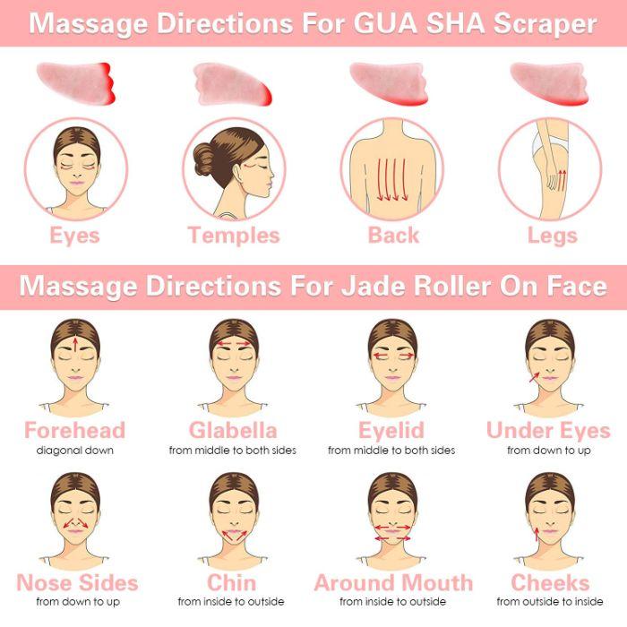 diy gua sha visage à la maison comment pratiquer la technique