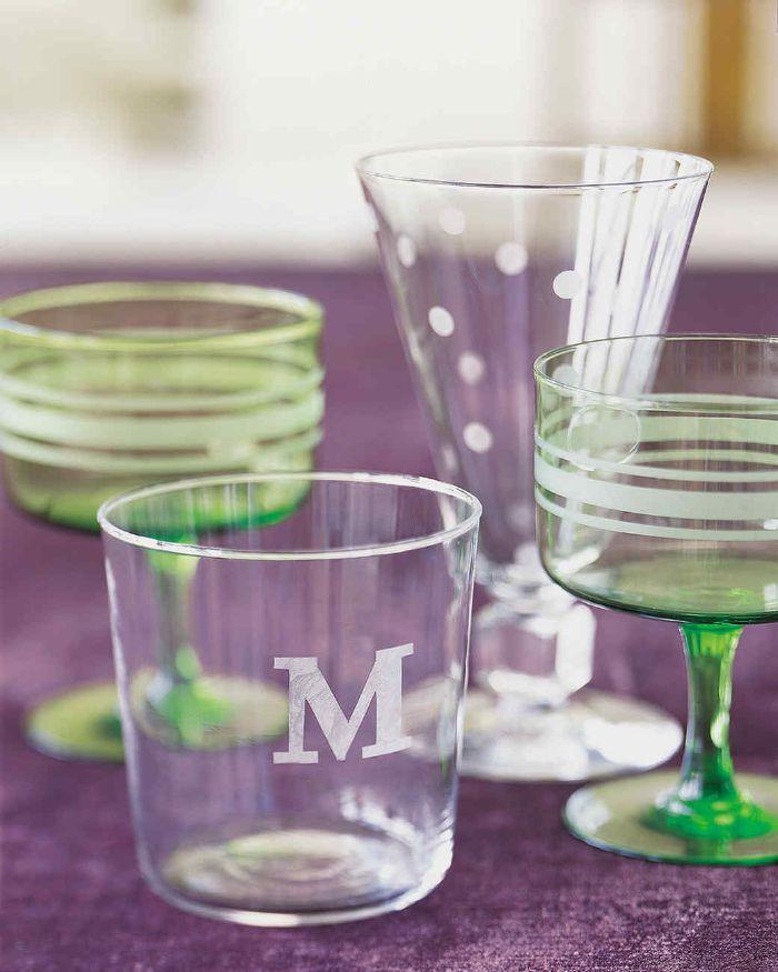 gravure chimique sur verre