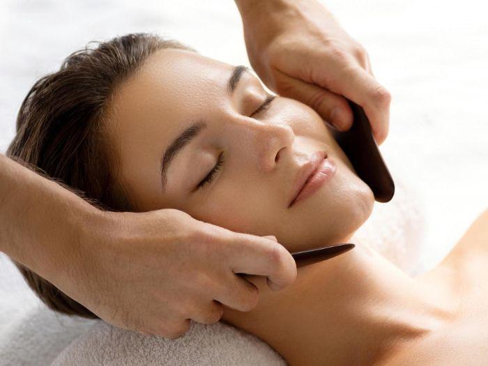 gua sha visage massage drainage lymphatique