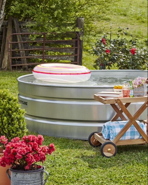 jeux amusants une piscine de stockage facile à installer