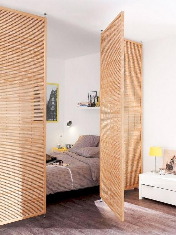 la chambre à coucher panneaux pliables
