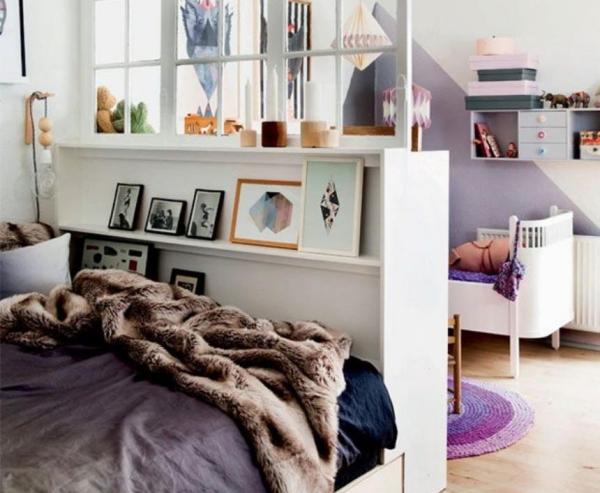 la chambre à coucher tête de lit haute