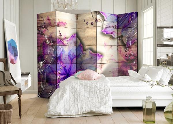 la chambre à coucher un écran amovible