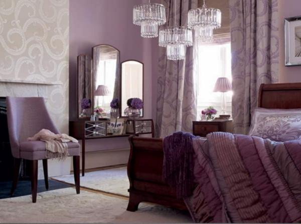 la couleur lavande fauteuil et mur similaires 20