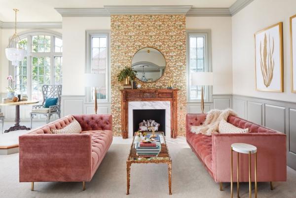 la couleur lavande millennial pink