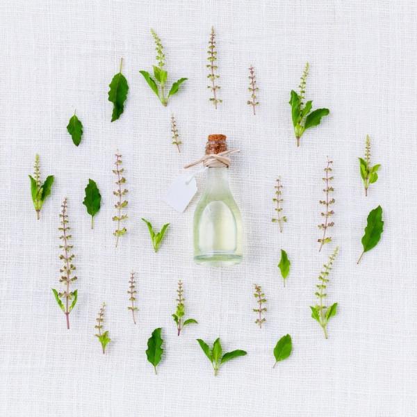 le vieillissement de la peau extrait d'herbes