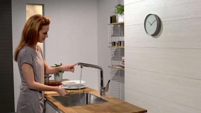 mitigeur cuisine beau et fonctionnel