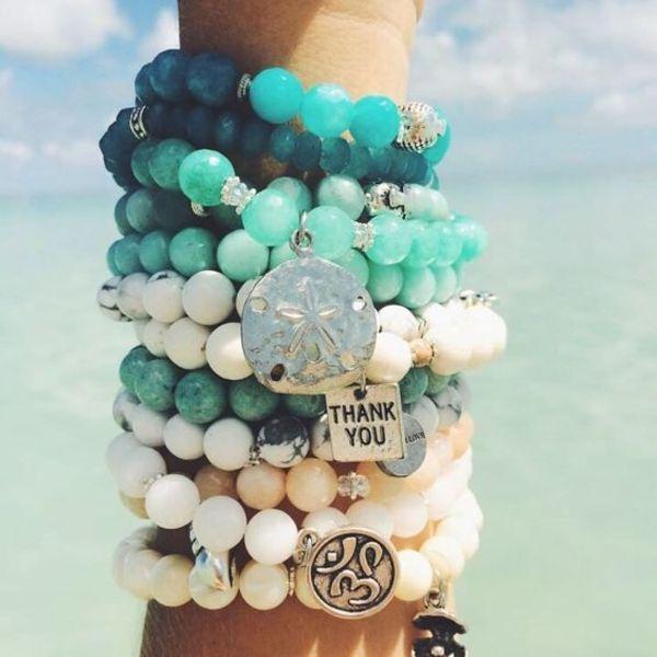 mode 2020 bracelet pierre anti-stress