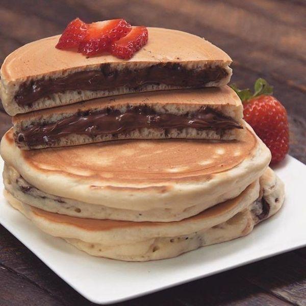 pancake fourré idée recette facile
