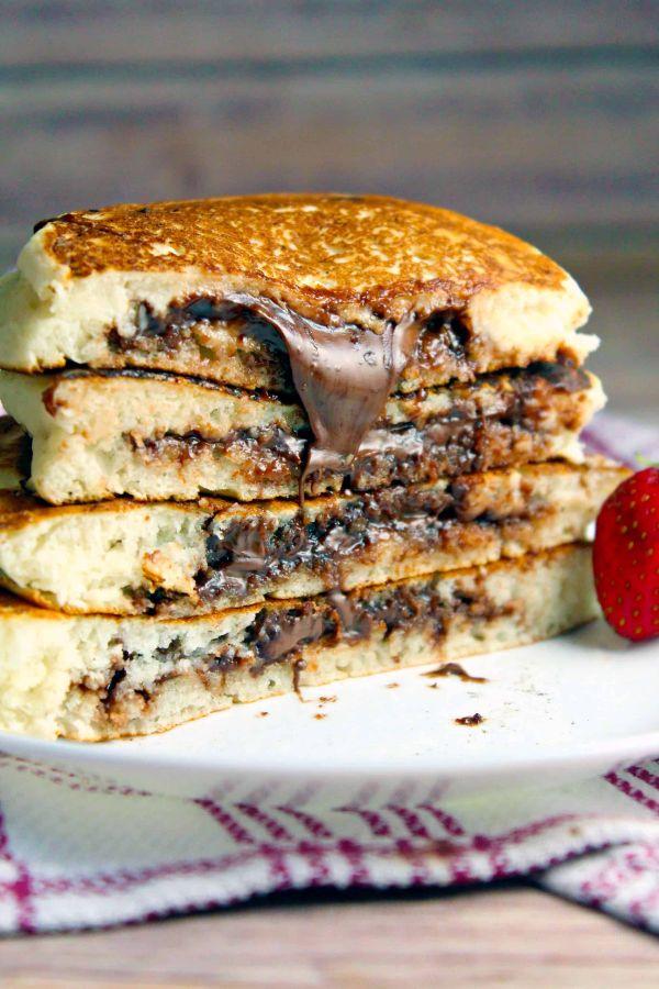 pancake fourré recette facile