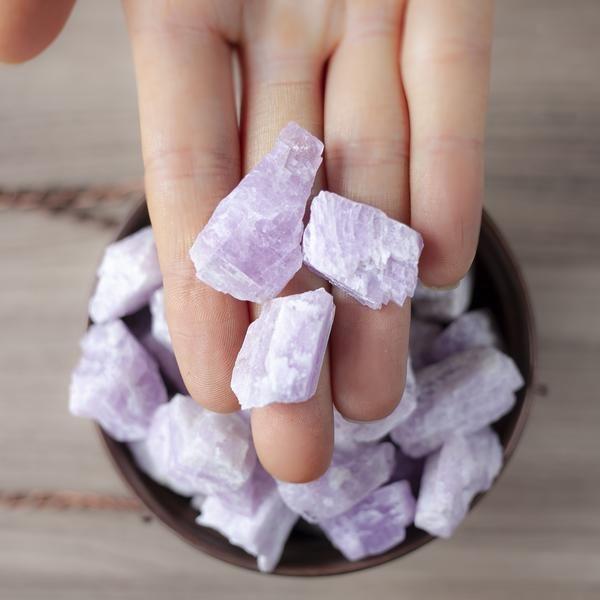 pierre kunzite bracelet pierre anti-stress