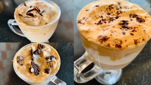 recette café dalgona trois saveurs