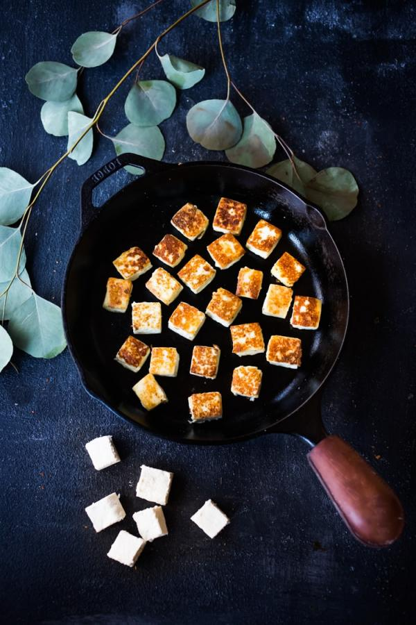 recette fromage indien frit