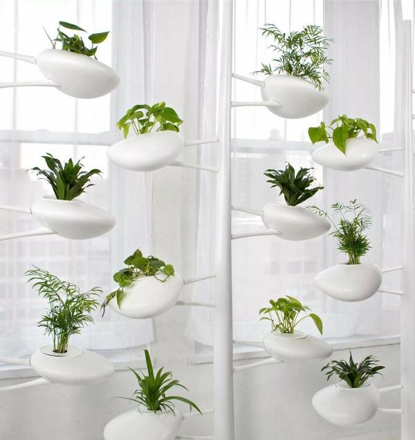 stand de fleurs à l'intérieur supports intéressants
