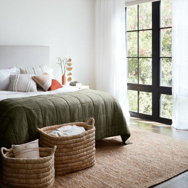 tapis fibre naturelle jute idée déco