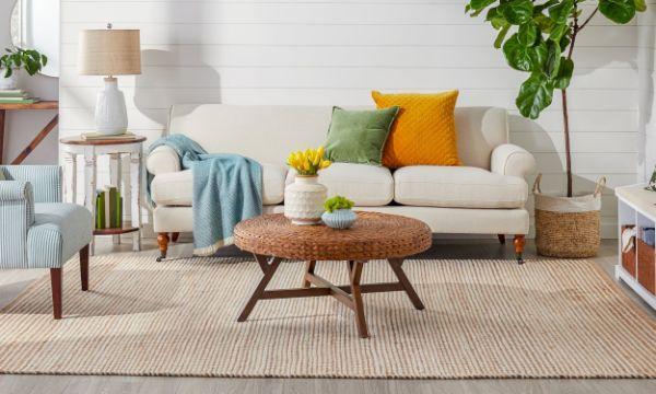 tapis fibre naturelle jute tapis