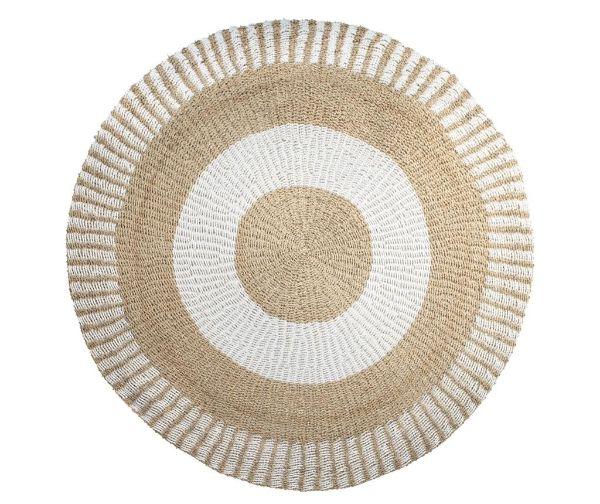tapis fibre naturelle tapis tond jonc de mer