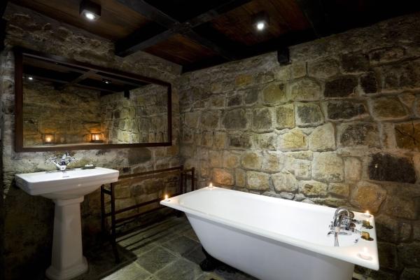 aménagement sous-sol salle de bain
