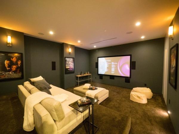 aménagement sous-sol salle de cinéma