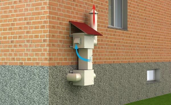 aménagement sous-sol ventilation