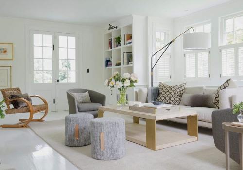 ameublement maison peinture en blanc