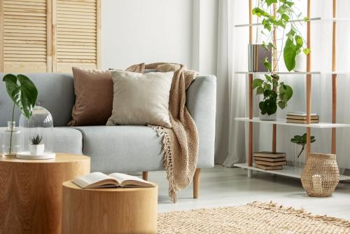 ameublement maison peu de meubles